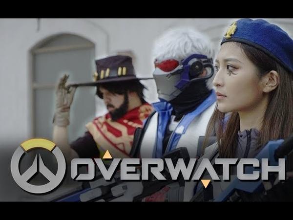 【Real life Overwatch】Halloween event!