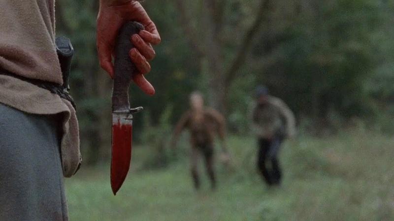 TWD S4E14 - Lizzie Kills Mika