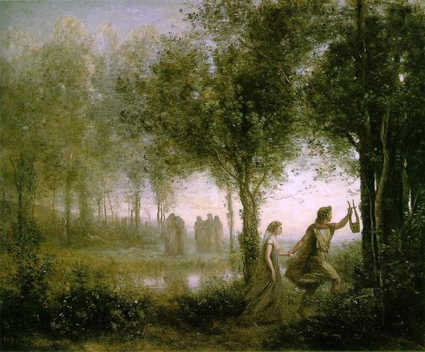 История одного шедевра. «Орфей, ведущий Эвридику из царства теней», Камиль Коро