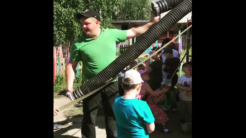 Национальный парк Русский Север отмечает День эколога с ребятами из детских садов города Кириллова