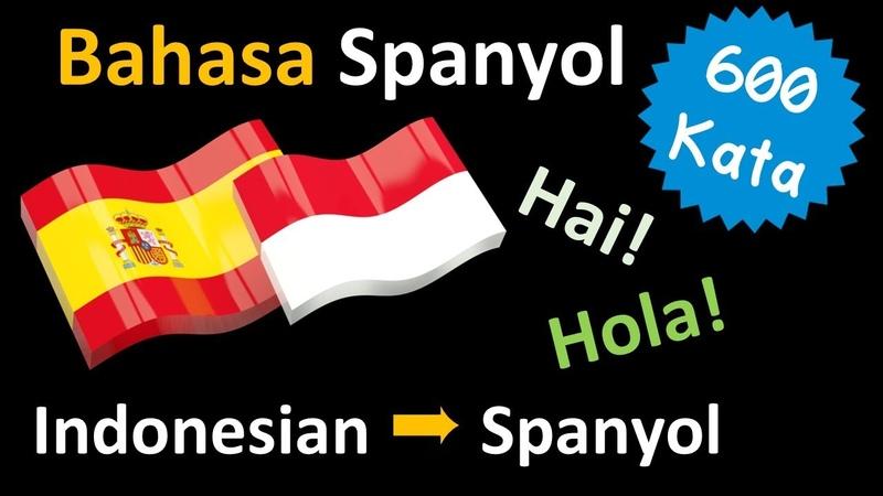 Belajar Bahasa Spanyol | Kosa kata Frase dan tatabahasa | Bahasa Indonesia