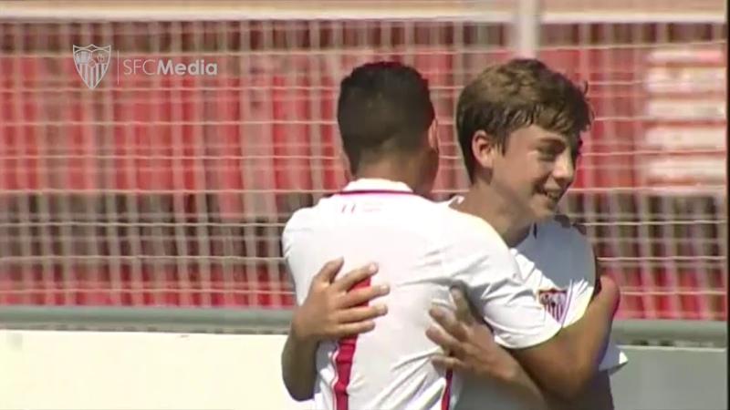 Sevilla FC 3-1 AD San José (2ª Andaluza Infantil - SE / J2)