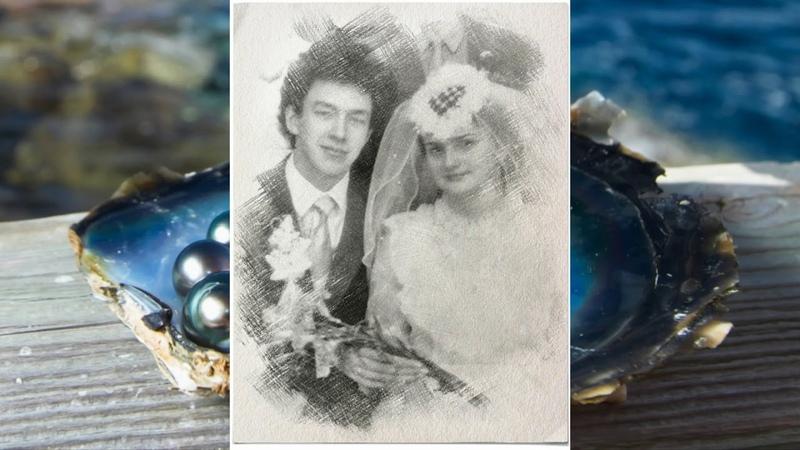 Наш юбилей (Жемчужная свадьба.30 лет вместе. )