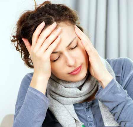 У некоторых людей антациды могут вызывать головные боли.