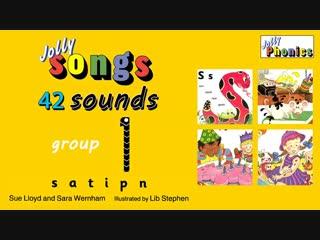 Jolly Phonics песни со звуками по учебнику