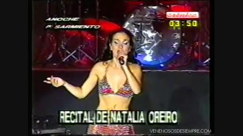 Natalia Oreiro . Recital Divas . De tu Amor . 2001 - Cronica Tv