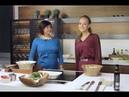 Салат с крутонами, авокадо и креветками | Ирина Хапко