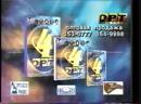 Реклама Juicy Fruit, Шоколад Россия, ОРТ Рекордс ОРТ, 31.12.1998
