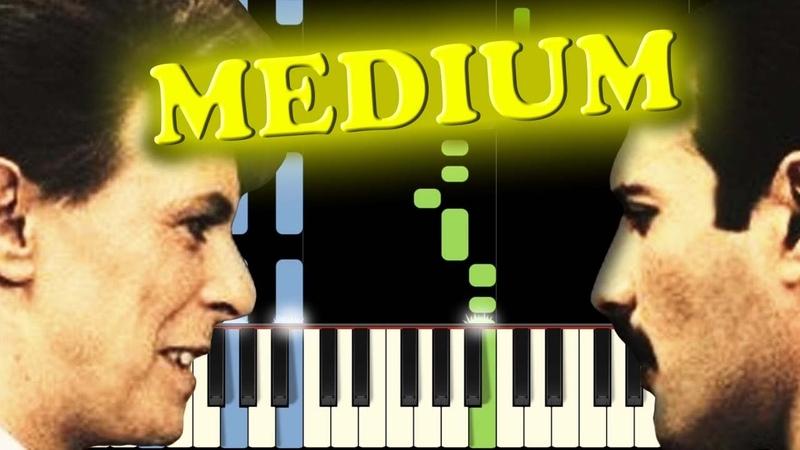 QUEEN DAVID BOWIE - UNDER PRESSURE - Piano Tutorial