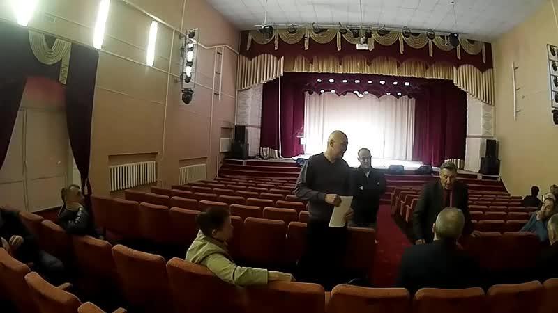 Встреча экологов с главой Ташлинской администрации 18.04.2019г. (полное видео)Встреча экологов с главой Ташлинской администрации