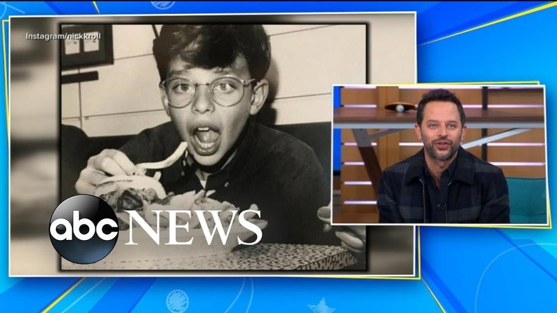 Check out these photos of Nick Kroll channeling his inner mobster as a kid