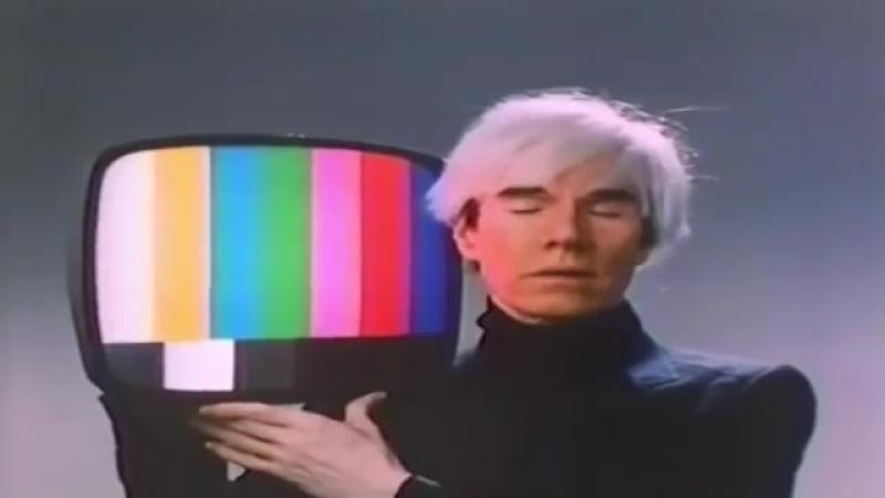 Andy Warhol в рекламе TDK video tape