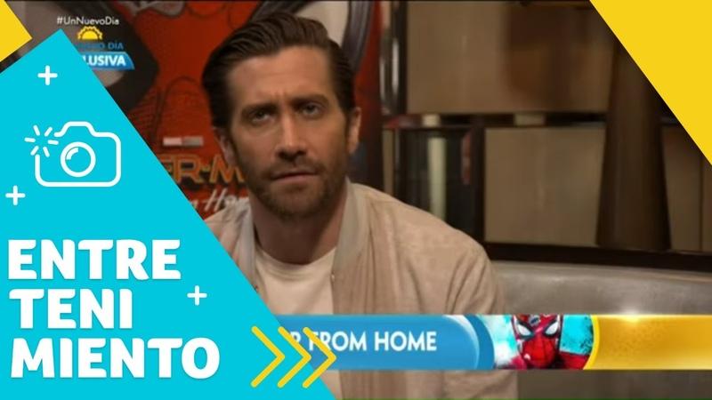 Jake Gyllenhaal revela detalles de la nueva Spider-Man | Un Nuevo Día | Telemundo