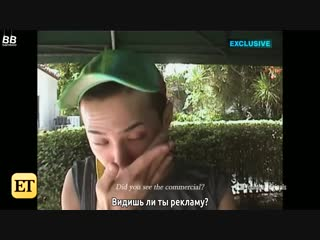 [BAMBOO рус.саб] Трейлер документального фильма G-Dragon'a