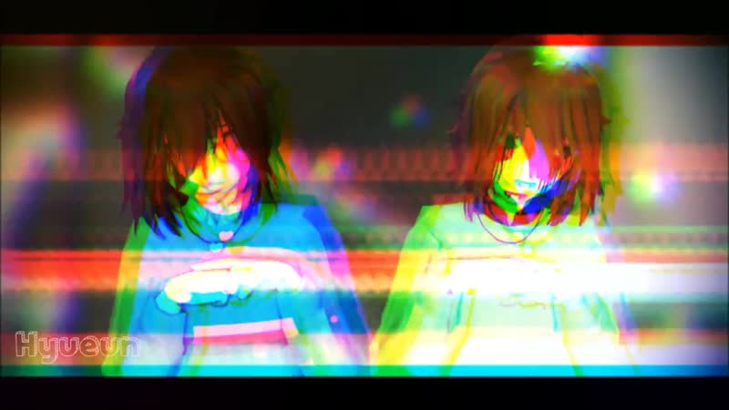 [v-s.mobi]【MMD】Undertale❖언더테일- MAMA HATES YOU ∥SMALL FLASH WARNING∥ ❙Male Frisk,Chara❙ ˚ Model Test˚