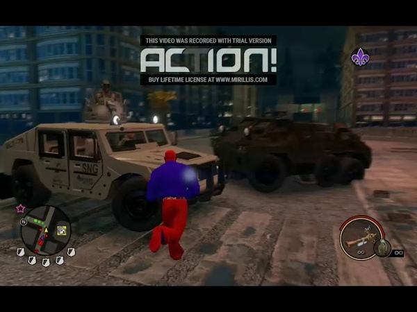 Saints Row The Third gameplay