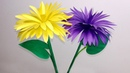 Stick Flower How to Make Stick Flower Making Paper Flowers Step by Step Jarine's Crafty Creation