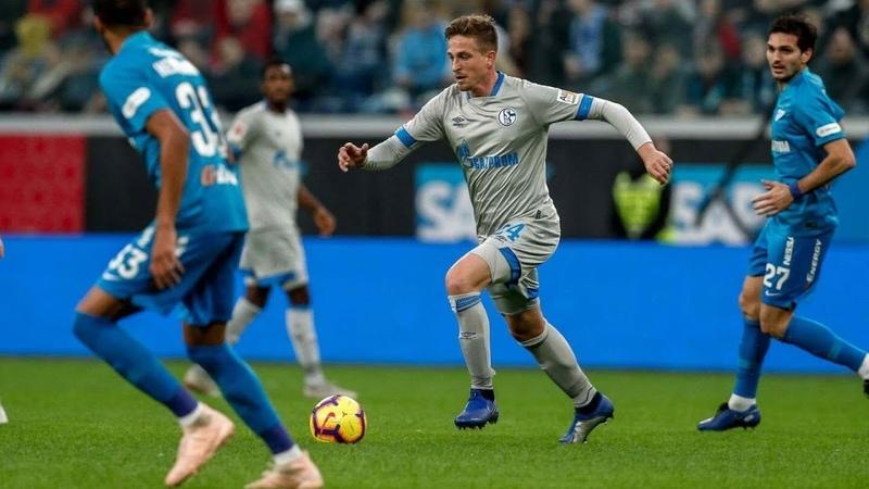 Zenit vs Schalke 2-1 Highlights Goals HD - Friendly   Зенит - Шальке 21 Обзор матча 18.11.2018