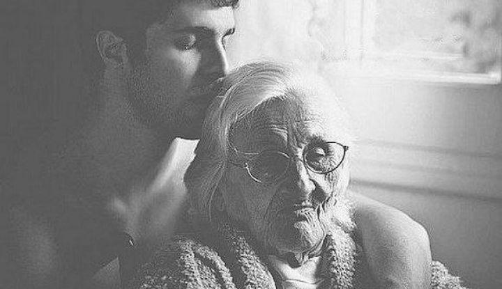 История про маму и сына....