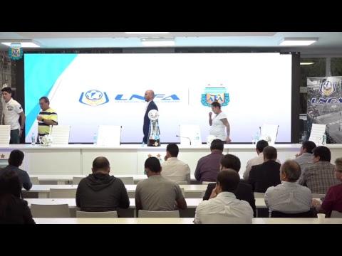 Presentación de la Segunda Edición de la liga Nacional de Futsal - 2019