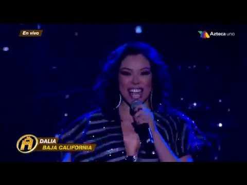 Dalia - I Will Survive - Reto Semifinal De La Academia 30/Sep/2018