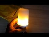 Очень крутая LED лампа с имитацией пламени - москва, киев, питер, харьков
