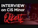 Interview with Qikert At CIS Minor - Katowice 2019 (RU SUB)