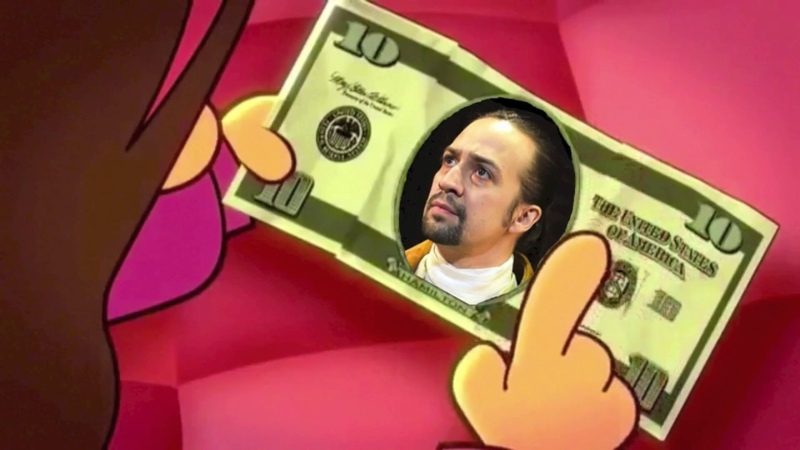 Mabel's crush on $10 bill guy