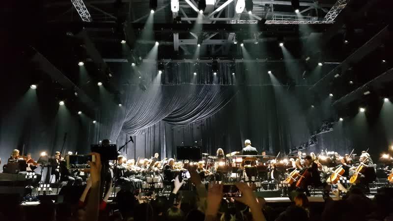 Би-2 и симфонический оркестр. Дизель-Арена, Пенза.