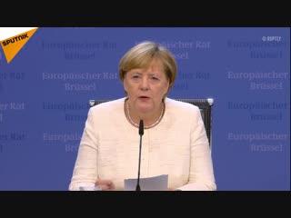 Merkel zu Brexit-Lösung