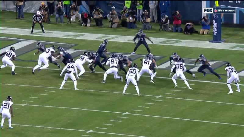 Derrick Henry ties NFL record with historic 99-yard TD