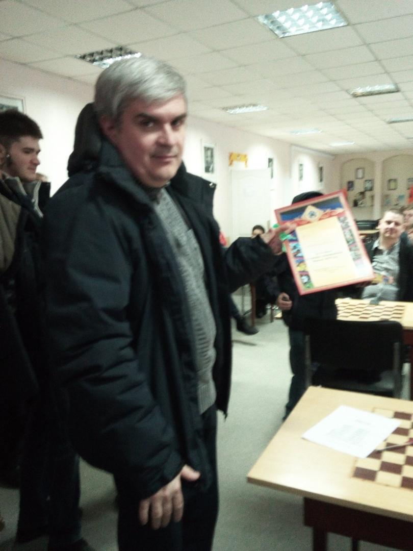 В Донецке состоялся новогодний турнир по шахматам