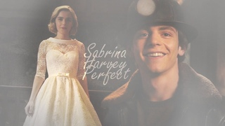 sabrina x harvey ● perfect