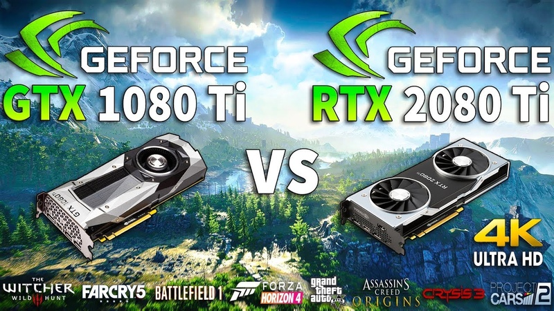 RTX 2080 Ti vs GTX 1080 Ti Test in 8 Games 4K (i7 8700k)