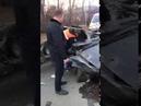 Страшная авария на Голубятникова