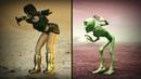 Animated Girl VS Dame Tu Cosita