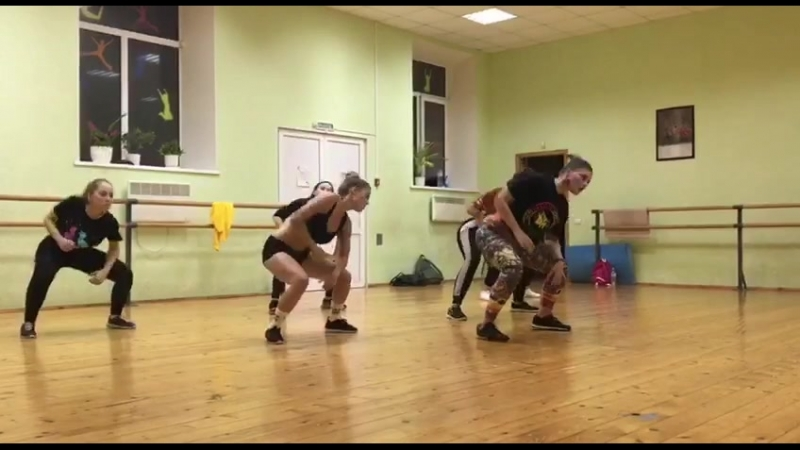 Dancehall c Мариной Агафоновой