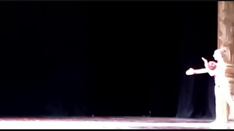 Юная гимнастка, наша пятиклассница, на Кинотаврике-2018