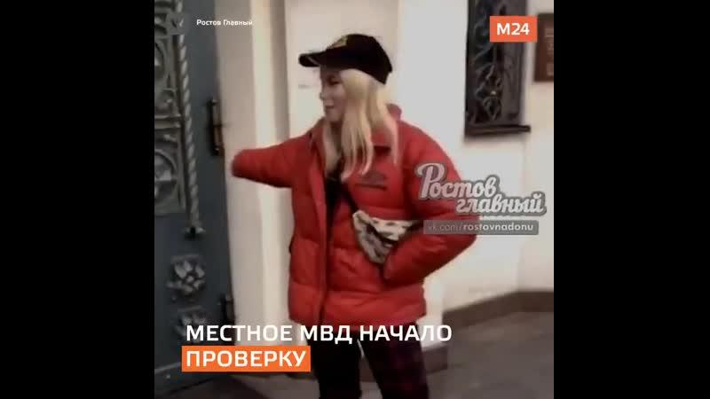 В Ростове-на-Дону девушка похвасталась тем, что плюнула на дверь храма