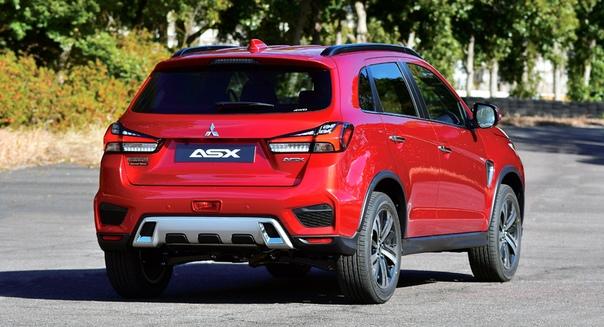 Кроссовер Mitsubishi ASX обновлен в четвертый раз