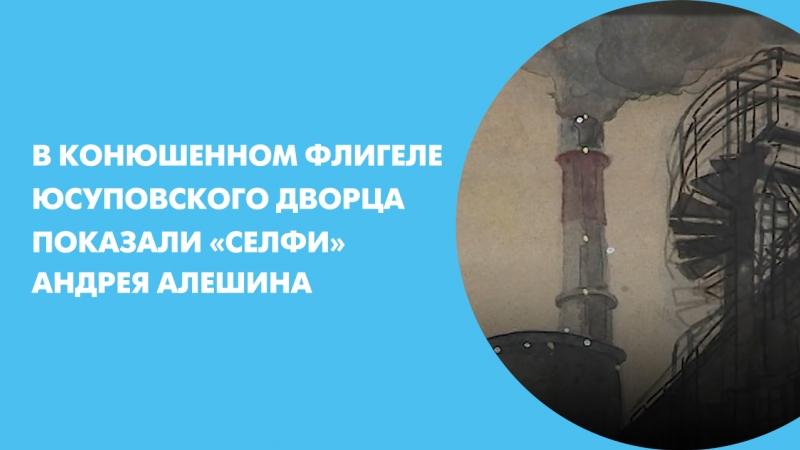 В Конюшенном флигеле Юсуповского дворца показали «Селфи» Андрея Алешина
