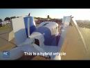 Видео тестового полета автомобиля Transition