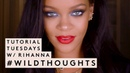 Уроки макияжа от Рианны: Tutorial Tuesdays 4