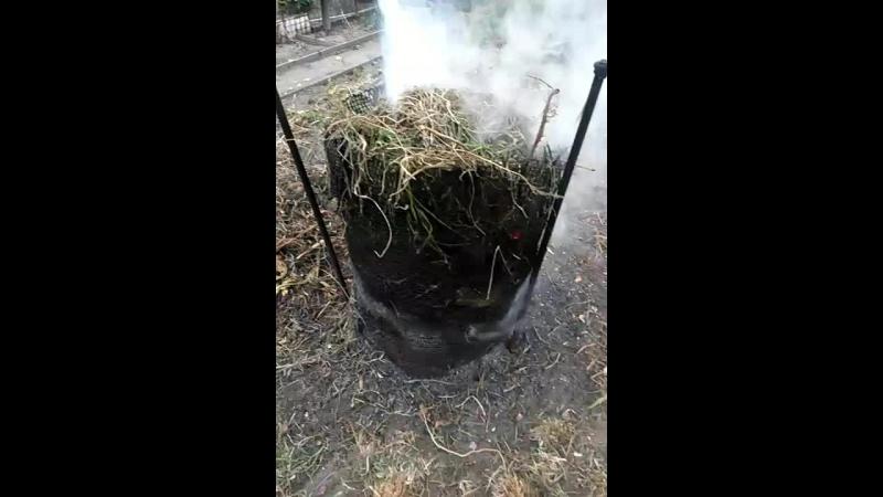 Как я жгу траву на дыша вшить дымом