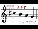 Концерт CAPELLA Рубцовский Муниципальный хор Декабрь 2018г