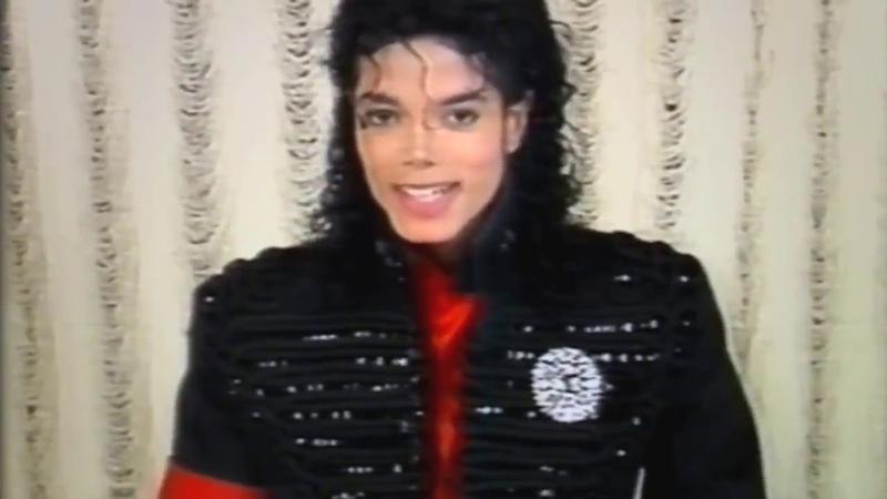 Michael Jackson wishing happy birthdays to wade (Unedited Version?)