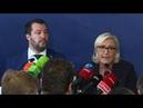 Salvini et Le Pen s'en prennent au bunker de Bruxelles