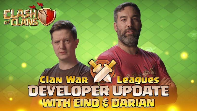 Clash of Clans - Clan War Leagues - Developer Update with Eino Darian