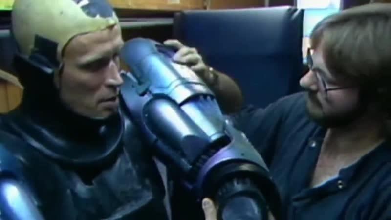 РОБОКОП Как снимался Питер Уэллер в костюме Робокопа .Как делали спецэффекты в фильме Робокоп 1987