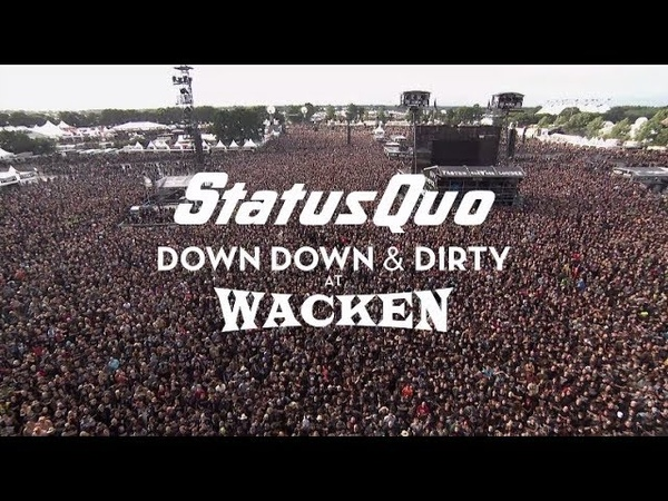 Status Quo In The Army Now (Live at Wacken 2017) - from Down Down Dirty At Wacken